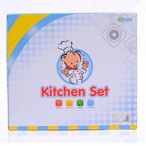 """Набор посуды """"Маленький повар"""" с плитой, 7 предметов"""