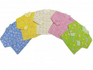 Кофточка Количество в упаковке: 1; Артикул: 001 Ф; Ткань: Футер; Состав: 100% Хлопок; Цвет: Разноцветный Скачать таблицу размеров                                                 Кофточка ясельная из