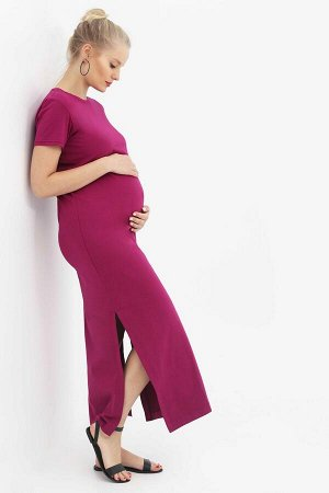 Платье-футболка орхидея для беременных и кормящих