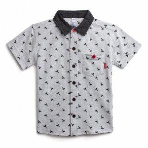 193085 Фуфайка трикотажная для мальчиков (футболка)