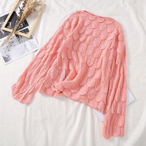 Ажурный свитерок
