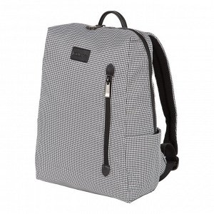 """Рюкзак Городской, молодёжный рюкзак с отделением для ноутбука выполнен в минималистичном дизайне и представлен  в модной  расцветке- """"гусиная лапка"""" -это  универсальная расцветка, которая прекрасно со"""