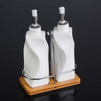 Фарфоровый  Рай -Изумительной Красоты Посуда!  — Бутылки и ёмкости для масла, соуса — Емкости для специй