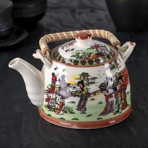 "Чайник заварочный с металл ситом ""Парк"" 600 мл"