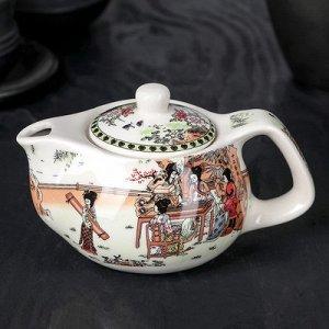 """Чайник заварочный с металл ситом """"Парк"""" 200 мл, 15х9х9,5 см"""