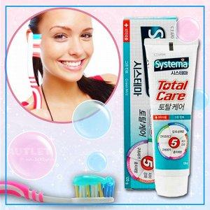 LION Зубная паста комплексный уход со вкусом мяты «SYSTEMA TOTAL CARE»