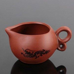 Набор для чайной церемонии «Дракон», 10 предметов: чайник 14?9,5?8,5 см, 8 чашек 5?3 см, чахай 150 мл