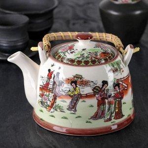 Чайник заварочный «Парк», 900 мл, 17?14?12 см, с металлическим ситом