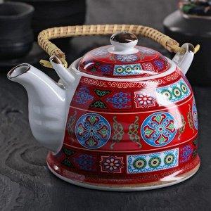 Чайник заварочный «Азия», 900 мл, с металлическим ситом