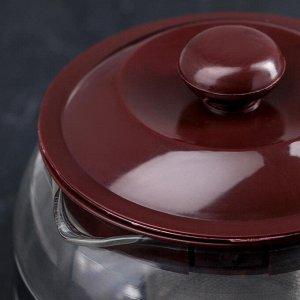 Чайник заварочный «Бруно», 750 мл, 16?11,5?13 см, цвет коричневый