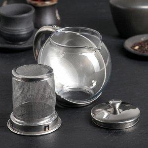 Чайник заварочный «Металлик», 500 мл