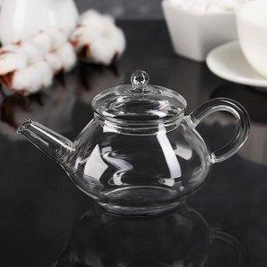 Чайник заварочный «Дамбо», 180 мл, с металлическим ситом