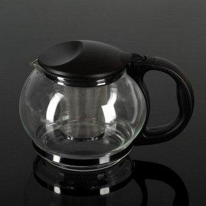 Чайник заварочный «Любава», 1,25 л, цвет МИКС