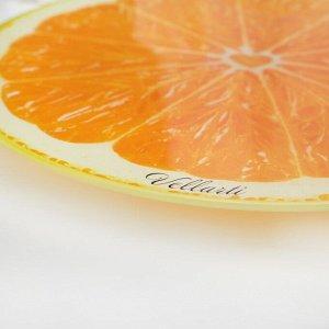 Подставка для торта вращающаяся «Апельсин», d=30 см, в подарочной упаковке