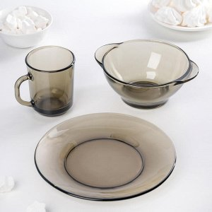 "Набор для завтрака ""Basilico"" Ca del vetro, 3 предмета"