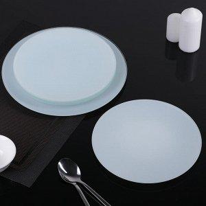Сервиз столовый, 7 предметов: 1 шт, 32 см, 6 шт, 18 см, цвет белый, подарочная упаковка