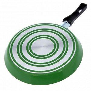 Сковорода блинная «Candy Green Grass», d=22 см