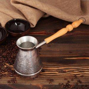 Турка для кофе медная «Жар-птица», 0,6 л