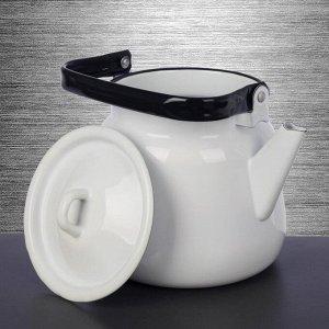 Чайник, 3,5 л, цвет белый