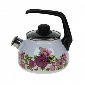 Чайник со свистком Violeta, 2 л, фиксированная ручка