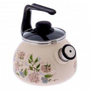 Чайник со свистком Buket, 2 л, фиксированная ручка