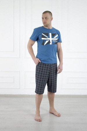 Костюм 446 флаг синий