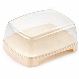 Масленка Масленка [CAKE] СЛОНОВАЯ КОСТЬ. Размеры изделия: 151х112х65 мм.