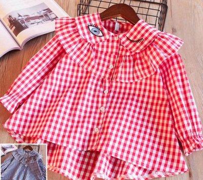 Детская одежда, обувь, аксессуары! Скидка 50% — Рубашки, блузы/Девочки — Блузки, туники