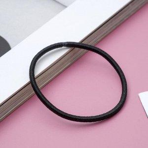 Резинки для волос чёрные (набор 30 шт.)