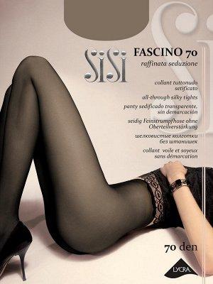 Sisi / Колготки FASCINO 70(шелковистые колготки с эффектом обнаженности)