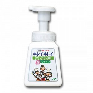"""LION Кухонное мыло-пенка для рук """"Ai - Kekute"""" с антибактериальным эффектом, аромат мяты, флакон"""