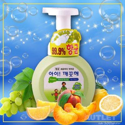 Мойдодыр. Лучшая бытовая химия для дома — Пенное мыло с антибактериальным эффектом — Гели и мыло