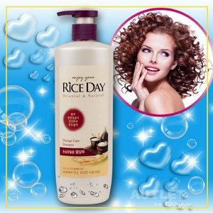 """LION Восстанавливающий шампунь для поврежденных и ослабленных волос  """"RICE DAY"""""""