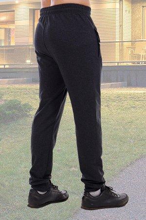 Брюки 1967 Мужские брюки из футера с лайкрой. Декоративные карманы, нашивка, по низу манжеты, пояс на резинке.  хлопок-72%, полиэстер-20%, лайкра-8% футер с лайкрой 2-х нитка Футер с лайкрой двухнитка