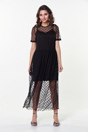 Платье Тутси №7 .Цвет:черный 2