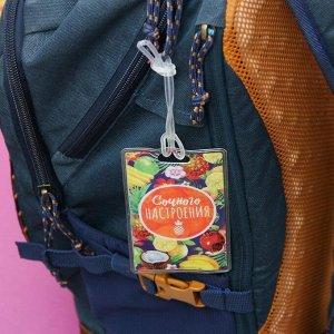 Дорожный набор «Сочного настроения»: обложка на паспорт, бирка на чемодан