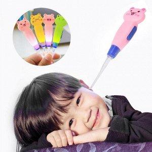 Ухочистка детская - прибор «Чистые ушки» для детей со светодиодной подсветкой