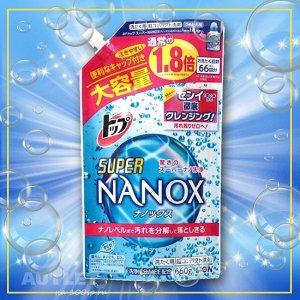 """LION Жидкое средство для стирки """"Top Super NANOX"""", запасной блок"""