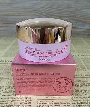 Крем для лица со свиным коллагеном Piggy Collagen Bounce Cream