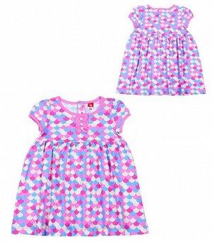 Платье д/д CAK 62055 морская волна