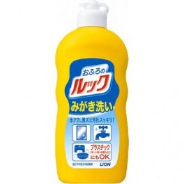 """Чистящее средство для ванных комнат Lion """"Look""""  (кремообразное, полирующее, с микрогранулами) 400гр"""