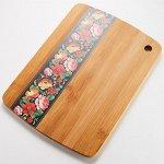 Доска разделочная 28х20х1см из бамбука РД-00069