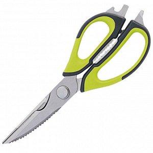 Ножницы 23 см кухонные многофункциональные (нержавеющая сталь) AK-3203