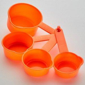 Набор мерных ложек 4 штуки ТД9-036