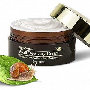 Многофункциональный восстанавливающий крем с муцином улитки SNAIL RECOVERY CREAM