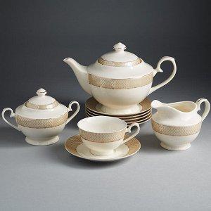 """Набор чайный 15 предметов МА021P/15 """"Триумф"""" в подарочной коробке"""