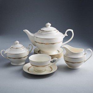 """Набор чайный 15 предметов МА017P/15 """"Версаль"""" в подарочной коробке"""