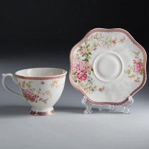 """Набор чайный 2 предмета Ф2-028Р/1 """"Жасмин"""" в подарочной коробке"""