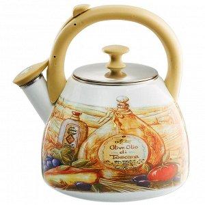 "Чайник  3,0л со свистком EM-30001/41 ""Сицилия"""