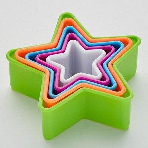 """Набор форм для печенья 5 размеров ТД9-043 """"Звездочки"""""""
